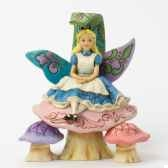 changed so much since this morning alice figurines disney collection 4037506