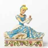 caring courageous cinderella with jaq gus figurines disney collection 4037511