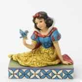 gentleness harmony snow white with bird figurines disney collection 4037512