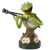 kermit bust le 3000 grand jester studios figurines disney collection 4035556
