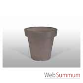 pot fleur lampe 60 cm marron bloom bloom41