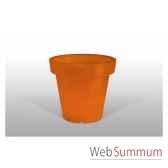 pot fleur lampe 100 cm orange bloom bloom58