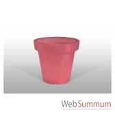 pot fleur lampe 100 cm rouge bloom bloom61