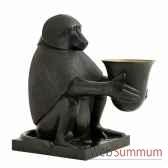 singe avec lumiere art deco eichholtz 06931
