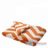 plaid boman orange eichholtz 07999