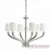 chandelier mayflower 6 lumieres eichholtz 08079