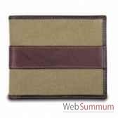 baron portefeuille 14 cartes toile cuir 4225 02