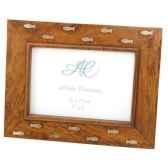 cadre photo bois laiton produits marins web summum web0231