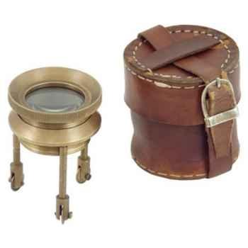 Loupe avec étui cuir Produits marins Web Summum -web0122