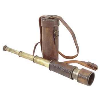 Longue vue avec étui cuir Produits marins Web Summum -web0123