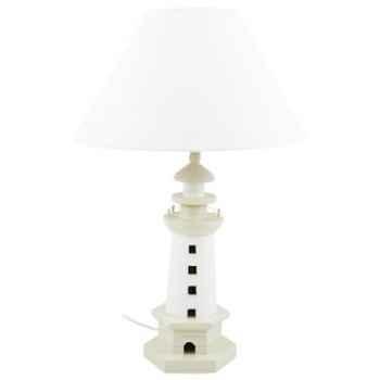 Lampe phare beige Produits marins Web Summum -web0643