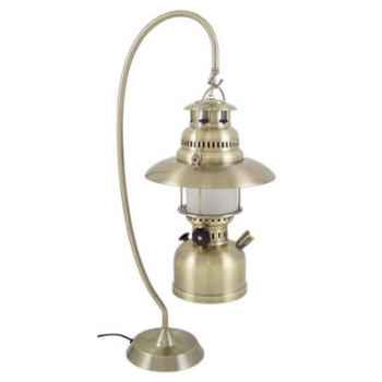 Lampe à carbure sur crémaillère Produits marins Web Summum -web0289