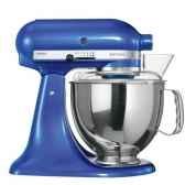 kitchenaid robot boinox 48 bleu electrique artisan cuisine 8675