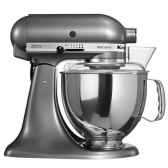 kitchenaid robot boinox 48 gris etain artisan cuisine 9249