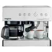 magimix combine expresso et filtre auto chrome mat cuisine 11133