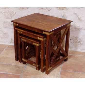Tables gigognes, set de 3 Produits marins Web Summum -web1232