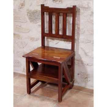Chaise escabeau bois Produits marins Web Summum -web1233
