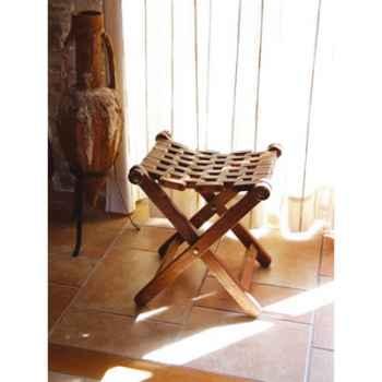 Tabouret bois pliant Produits marins Web Summum -web0249