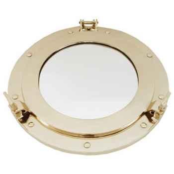 Miroir hublot laitonné Produits marins Web Summum -web0130