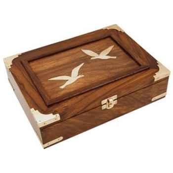 Boîte de rangement bois Produits marins Web Summum -web0225