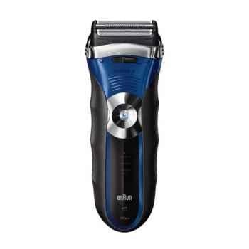 Braun rasoir wet & dry noir & bleu - série 3 Cuisine -12649
