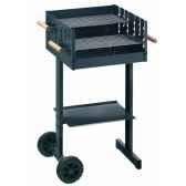 barbecue a charbon rectangulaire 46x46cm mod b4648 alperk 9837 8436028