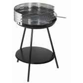 barbecue a charbon rond 50cm mod cl50i carton de 3 unites alperk 9826 3663141