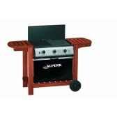 barbecue a gaz 64x48cm puiss 155kw mod sy3 palette de 6 unites alperk 9848 3663141