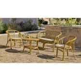 ensemble salon en rotin nilfisk 1 sofa 2 fauteuils 1 table exklusive hevea 10080 8430108
