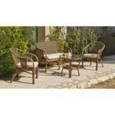 ensemble salon en rotin et tressage austin 1 sofa 2 fauteuils 1 table exklusive hevea 10081 8430106