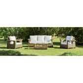 ensemble salon lacarno en bois et rotin 1 canape 3p2 fauteuils 1 table exklusive hevea 10082 8430104