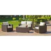 ensemble orotava 7 1 canape 2p2 fauteuils 1 table centrale coussins ecru avec passepoimarron exklusive hevea 11282 36