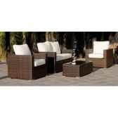 ensemble casanova 7 1 sofa 2p2 fauteuils 1 table centrale basse coussins ecru exklusive hevea 11289 3663141