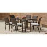 ensemble bahia 150 1 table 150 6 fauteuils bahia 30 coussins ecru exklusive hevea 11297 3663141