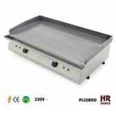 plancha chassis inox electrique 48kw 2 bruleurs plaque 80x40 acier poli 230v lot de 12 fainca 10281 3663141