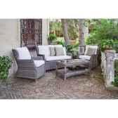 salon haut de gamme tunez 7 1 canape 2p2 fauteuils 1 table basse coussin ecru nabab 10107 8430095