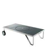 brasero lucio table brasero inox mobile grand modele happinox brasero lucio