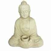bouddha assis porte bougie bouddha web summum bud003