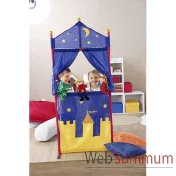 Theatre tissu marionnettes a poser Sterntaler -36080