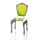 chaise baroque verte acrila 0008