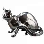 objet decoration shadow chat noir x2 edelweiss c2036