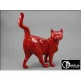 objet decoration shadow chat rouge x2 edelweiss c2063
