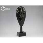 objet decoration spirit masque noir x2 edelweiss c2075