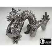 objet decoration loch ness dragon platine edelweiss c2196