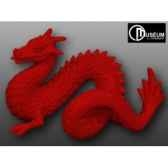 objet decoration 02 loch ness dragon rouge edelweiss c2197