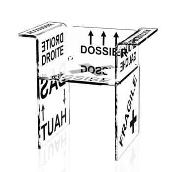Chaise design Protect Me Castelbajac Acrila - 0042