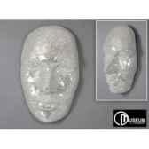 objet decoration exaltation masque 103cm edelweiss c7909