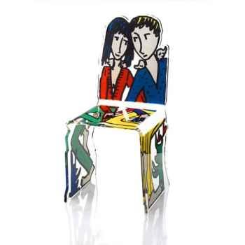 Chaise design Me My Friend Castelbajac Acrila - 0045