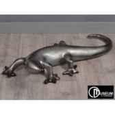 objet decoration illusion salamandre noir argt edelweiss c8812