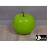objet decoration color pomme verte d47cm edelweiss c9145